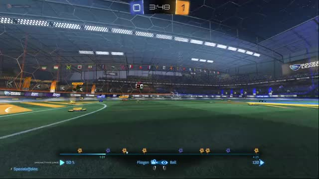 Watch and share Rocket League GIFs and Nice Goals GIFs by captainkirby on Gfycat