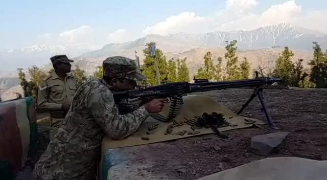 Watch and share Pakistan Army LMG (Light Machine Gun)   MG3 GIFs on Gfycat