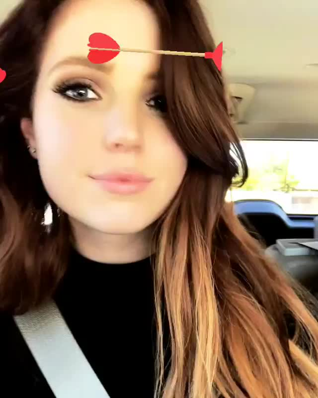 Sydney Sierota, FIRST TIME HEARING OVER MY HEAD ON THE RADIO !!! 🖤🖤🖤 GIFs