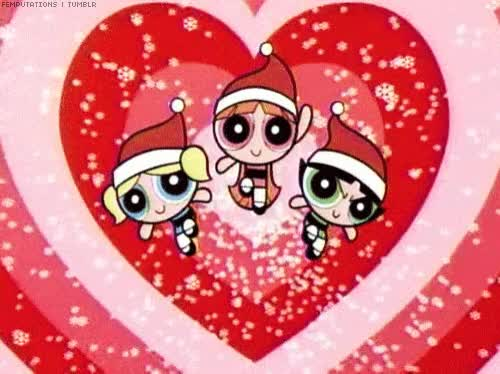 Watch and share Christmas GIFs and Powerpuff GIFs by Reactions on Gfycat