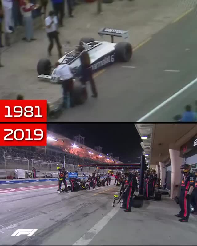 Watch F1 in 1981 vs 2019 GIF on Gfycat. Discover more agile, devops, micro_changes, micro_service GIFs on Gfycat