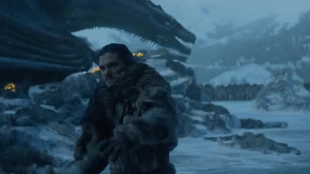 Watch this trending GIF by AMCU (@justicelee) on Gfycat. Discover more beric dondarrion, daenerys targaryen, game of thrones, jon snow, jorah mormont, sandor clegane, the frozen lake battle, thoros of myr, tormund giantsbane, white walkers GIFs on Gfycat