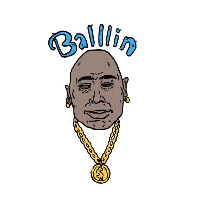 Watch and share Ballin, Chain, Gold, Necklace GIFs on Gfycat
