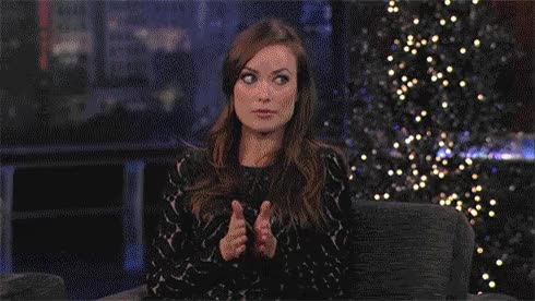 Watch and share Olivia Wilde GIFs and Clapping GIFs on Gfycat