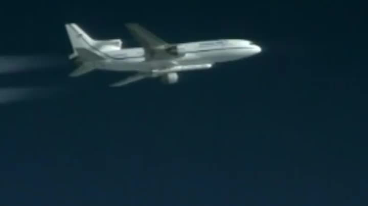 cygnus, nasa, spacegfys, Pegasus XL Rocket Launches with CYGNSS Spacecraft GIFs