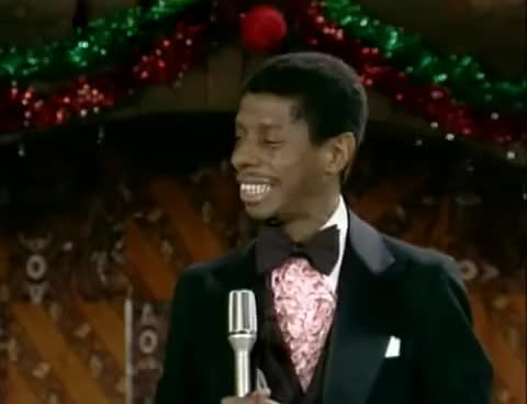 Bookman Christmas Dance from Good Times - MERRY CHRISTMAS! dancing Good, Times, Bookman, Christmas, Dance, TV, Land, Classic, Jimmy, Walker GIF