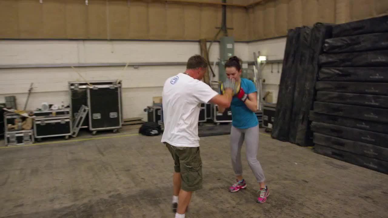 DaisyRidley, celebs, starwars, Daisy training for TFA GIFs