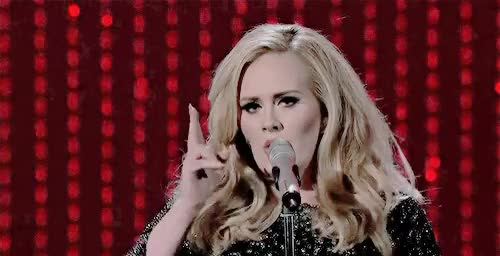 Watch Adele Source GIF on Gfycat. Discover more adele, adeleedit, by veronica, gif, oscars, performances, skyfall GIFs on Gfycat
