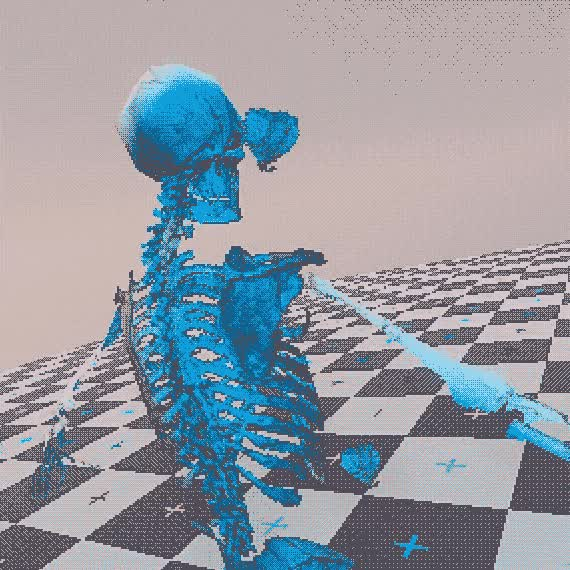 Watch and share Char Skeleton Test 01 GIFs by Acorn Bringer on Gfycat