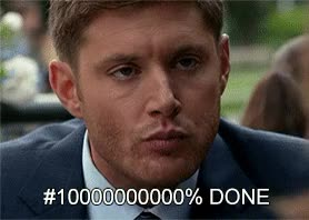 Watch and share Jensen Ackles GIFs and Fuckit GIFs by Reactions on Gfycat