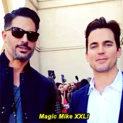 Watch this joe manganiello GIF on Gfycat. Discover more joe manganiello, matt bomer GIFs on Gfycat
