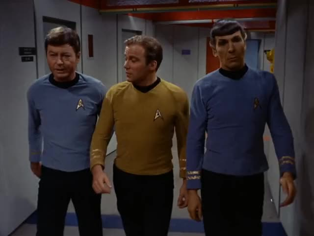 Watch and share Deforest Kelley GIFs and Leonard Nimoy GIFs by Unposted on Gfycat