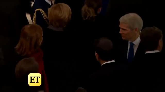 Watch Prince Charles and Other World Leaders Attend President George H.W. Bush's Funeral GIF on Gfycat. Discover more Hollywood, celebrity, et, etonline, news, trending GIFs on Gfycat