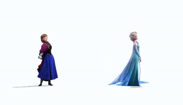 Watch and share Elsa GIFs and Anna GIFs on Gfycat