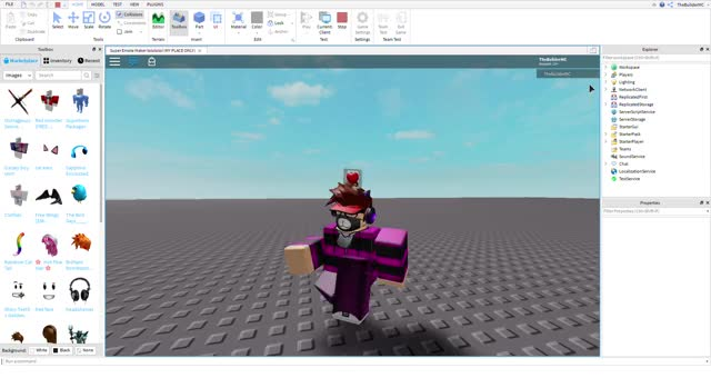 Watch and share Super Emote Maker Lolololol (MY PLACE ONLY) - Roblox Studio 8 14 2019 9 24 12 PM GIFs on Gfycat