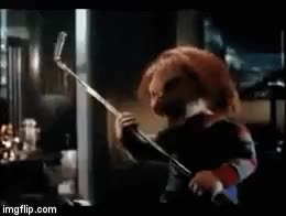 Watch and share Child's Play 3 GIFs and Horror Movies GIFs on Gfycat