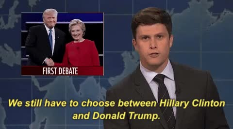 Watch and share Colin Jost GIFs on Gfycat