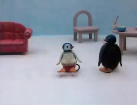 Watch and share 016 Pingu And Pinga Don't Want To Go To Bed GIFs on Gfycat