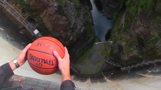 Watch and share The Magnus Effect - When A Small Amount Of Spin Is Added To A Dropped Object, The Object Moves Forward (Science Explanation In Comments) GIFs on Gfycat