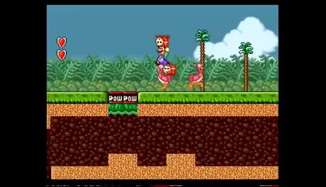 Watch and share Super Mario All-Stars (SNES) Gameplay (Super Luigi Bros. 2) GIFs on Gfycat