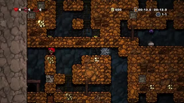 Watch and share 2 Tile Whip GIFs and Spelunky GIFs by bum on Gfycat