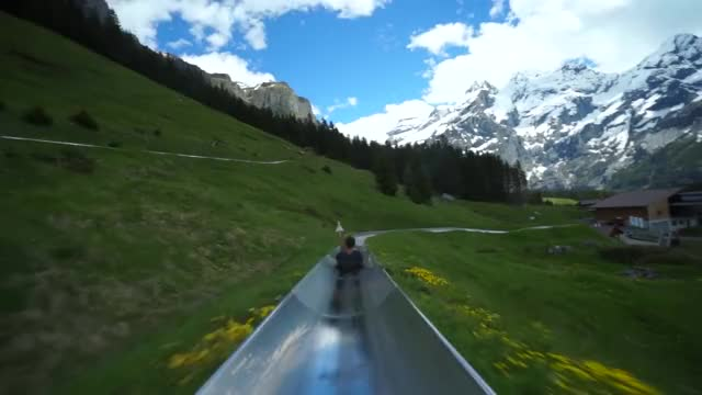 Watch Switzerland Mountain Coaster GIF on Gfycat. Discover more gifs, switzerland (country), the coasters (musical group) GIFs on Gfycat