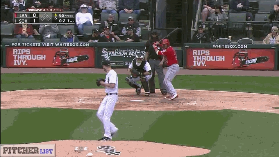 baseball, filthypitches, [GIF] Chris Sale's classic Slider freezes Geovany Soto for the strikeout (more GIFs in comments) (reddit) GIFs