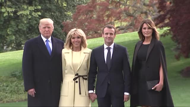 Watch this emmanuel macron GIF on Gfycat. Discover more district of columbia, donald trump, emmanuel macron, europe, france, france government, melania trump, national, north america, politics, united states, western europe GIFs on Gfycat