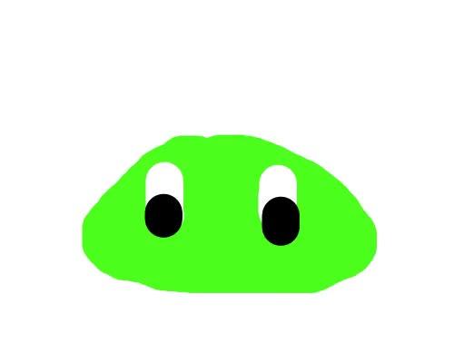 Watch and share Cute Little Green Blob GIFs on Gfycat