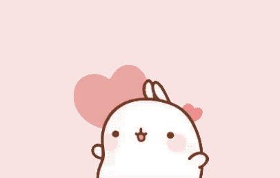 aww, awww, cute, cutie, eyes, heart, hearts, hug, pink, rabbit, Awww cutie GIFs