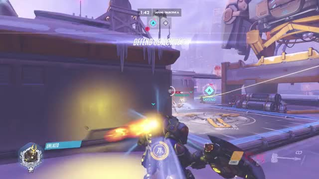 Watch Saving Captain Ana GIF on Gfycat. Discover more highlight, overwatch GIFs on Gfycat