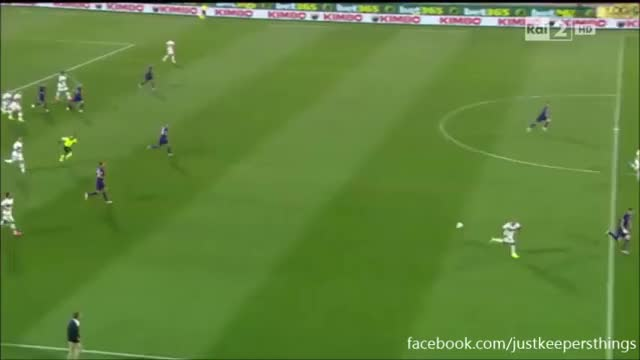 Watch and share Diego Lopez Save Vs Fiorentina GIFs on Gfycat