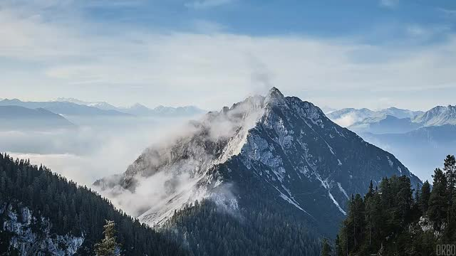 Watch and share Misty Rofan Mountains, Austria. GIFs on Gfycat
