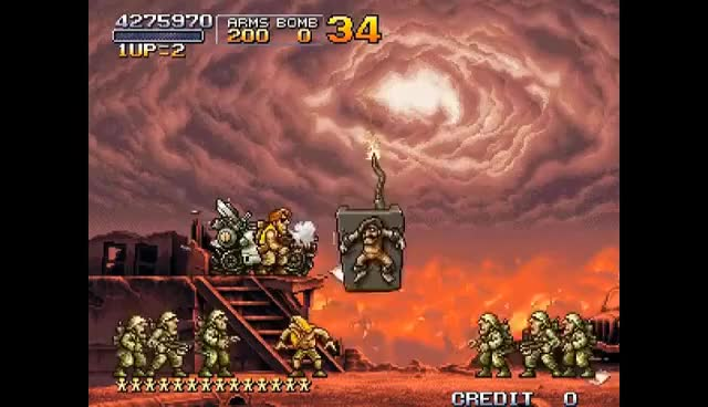 "Watch and share METAL SLUG X - ""ALL SECRETS"" Speed RuN GIFs on Gfycat"