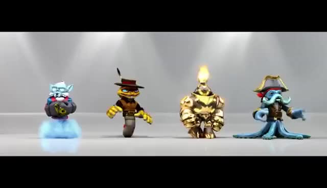 Watch and share Skylanders SWAP Force: Kaos+Princess=HUMILIATION GIFs on Gfycat