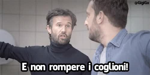 Watch and share Non Rompere Cogl Carlo Cracco GIFs on Gfycat