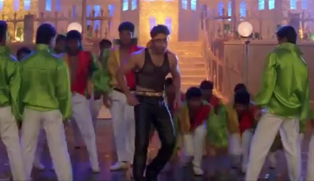 Watch and share Tan Tana Tan Tan Taara - Salman Khan - Karishma Kapoor - Judwaa Songs - Abhijeet - Poornima GIFs on Gfycat