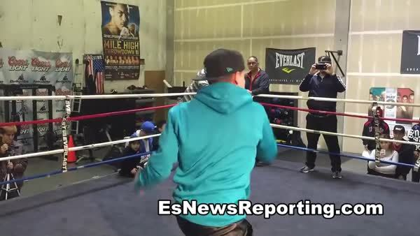 boxing, mike alvarado working out for rios III fight - EsNews Boxing (reddit) GIFs