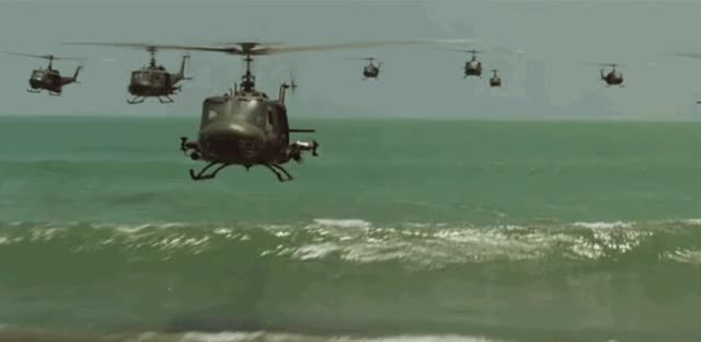 Watch and share Helicopter-apocalypse-now GIFs by WELCOME TO MY WORLD on Gfycat