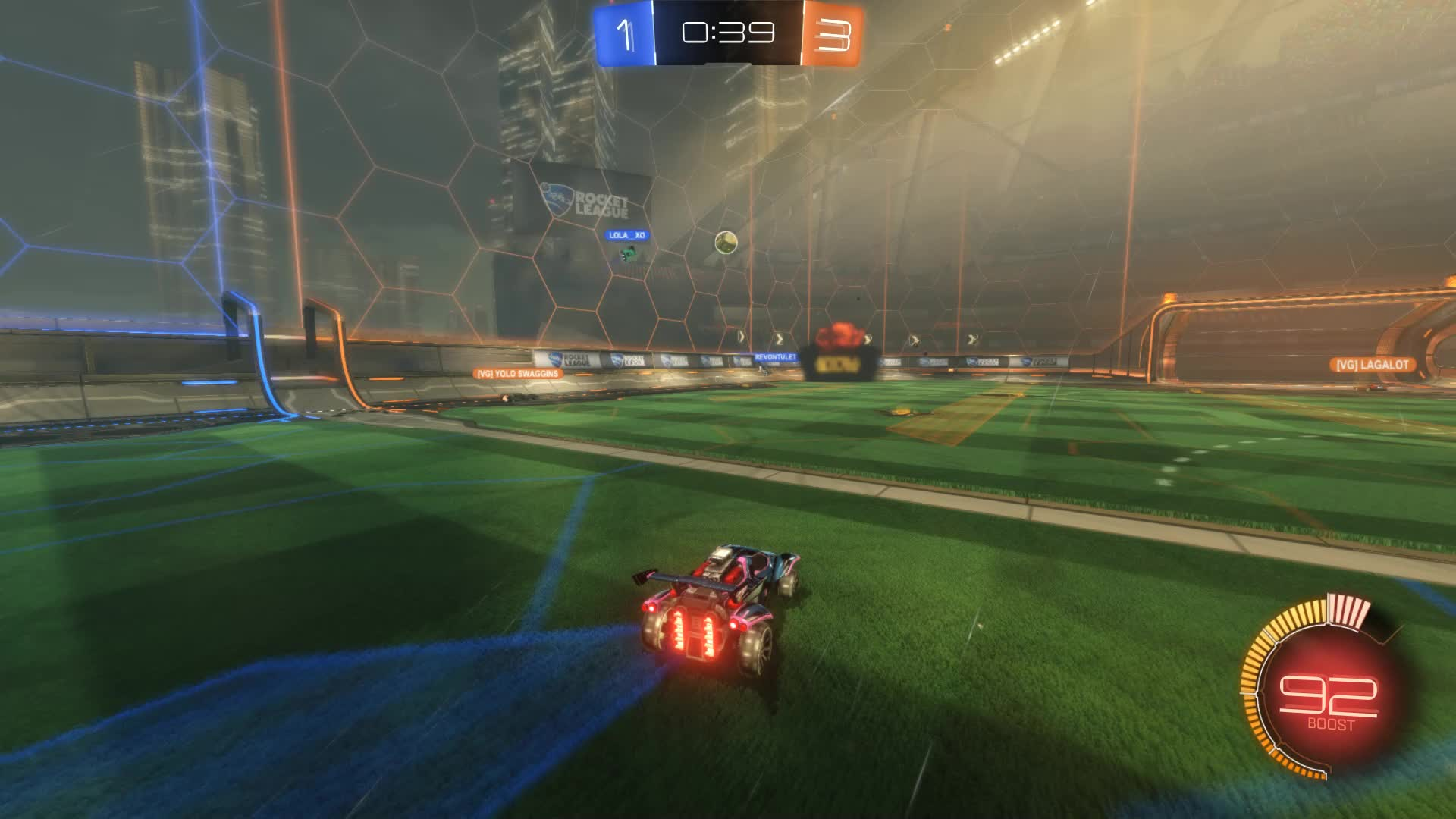 Gif Your Game, GifYourGame, Goal, Rocket League, RocketLeague, SCOTLAND FOREVER, Goal 5: SCOTLAND FOREVER GIFs