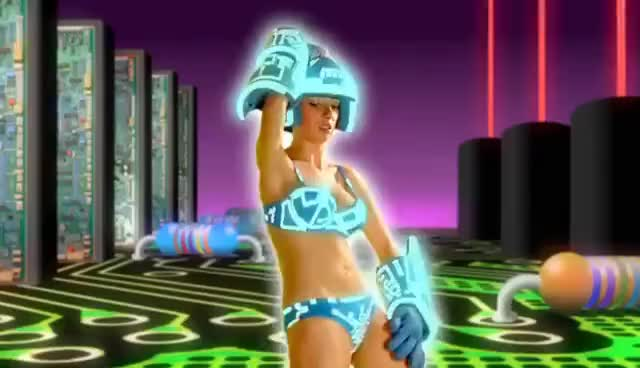 Watch and share Tron Girl GIFs on Gfycat