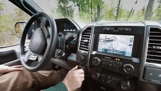 Ford Trailer Backup Assist >> 2016 Ford F 150 Work Smarter With Pro Trailer Backup Assist F 150