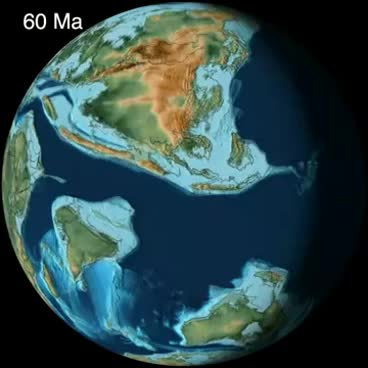 Watch and share Collision Of India & Tectonic Evolution Of SE Asia - CR Scotese GIFs on Gfycat