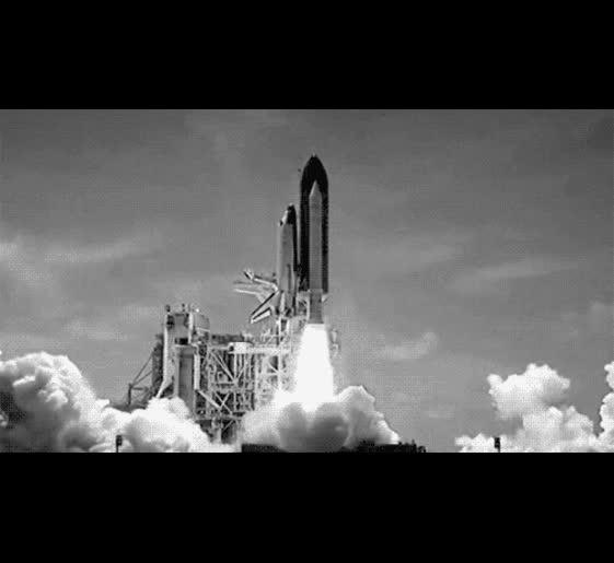 future rocket gif - 500×459