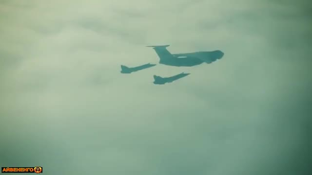 Watch and share Tu-95 And A Pair Of Su-24s Refueling [x/MilitaryGfys] (reddit) GIFs on Gfycat