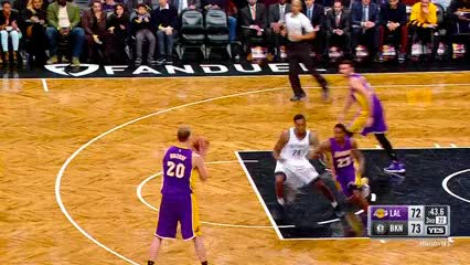 Watch and share Larry Nance, Jr. — Los Angeles Lakers GIFs by Off-Hand on Gfycat