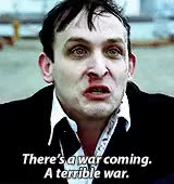 Watch and share Robin Lord Taylor GIFs and Oswald Cobblepot GIFs on Gfycat