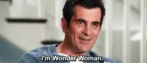 Watch and share Wonder Woman GIFs and Ty Burrell GIFs on Gfycat