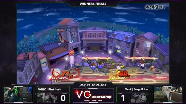 S@X 161 - VGBC | Pinkfresh (Bayonetta) Vs. VexX | Seagull Joe (Diddy) WF - Smash Wii U - Smash 4