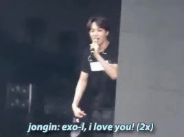 Watch and share Exo'luxion GIFs and Jongin GIFs on Gfycat